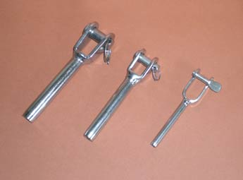 roll swaged yacht rigging fork terminals